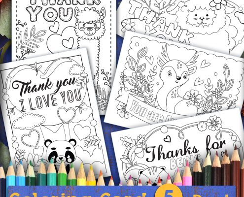 Projects And Coloring Pages Archives Thank You Me